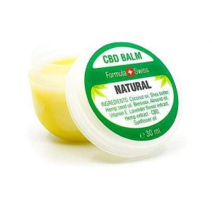 CBD balm Natural | Cannabis balm, 90 mg, 30 ml bild 1