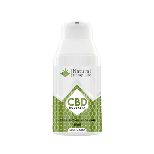 CBD hudsalva 500mg transparent